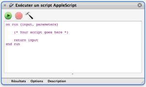 executer un script