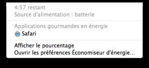 App gourmandes en energie